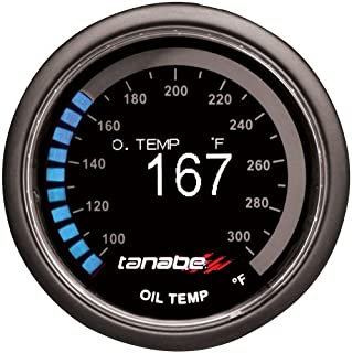 Tanabe 1TR1AA003 Revel VLS Oil Temperature Gauge, 52mm
