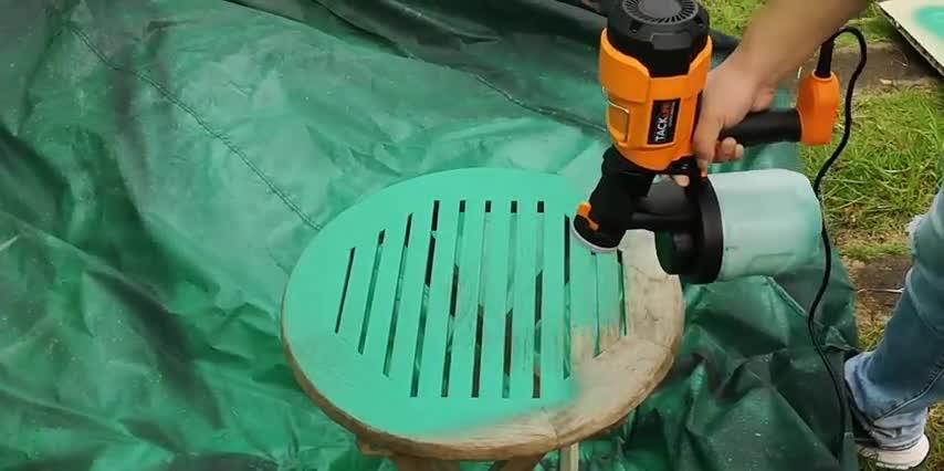Pulverizador pintura electrico para pintar coches muebles pared Pulverizador pintura electrico HVLP Kecheer Pistola de pulverizaci/ón pintura el/éctrica 1000ML con compresor