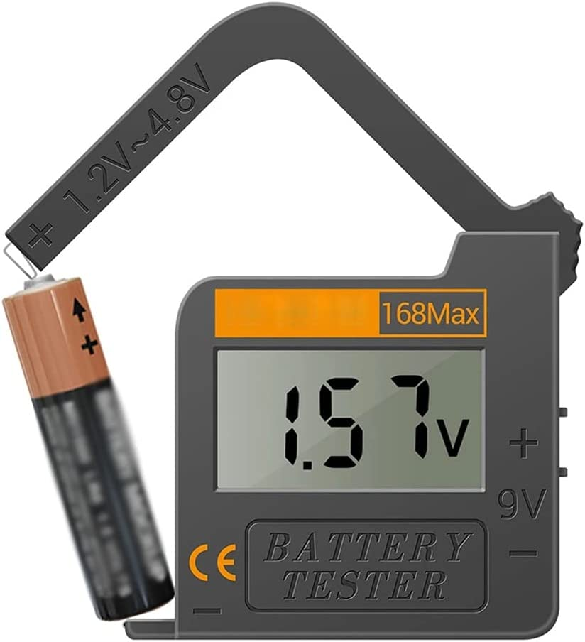 ZZABC DCCSHY 168Max Digital Lithium Battery Capacity Tester LCD Battery Voltage Tester Digital Lithium Battery Capacity Diagnostic Tool