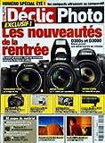 DECLIC PHOTO [No 52] du 01/08/2009 - LES NOUVEAUTES DE LA RENTREE / D300S ET D3000...
