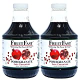 100% Pure Wonderful Pomegranate Juice Concentrate by FruitFast - Unsweetened, Non-GMO, Gluten and...