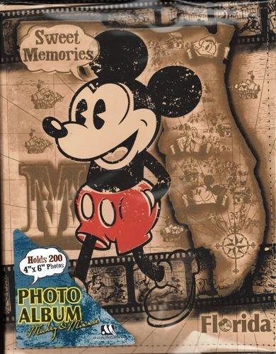 Disney Exclusive Mickey Mouse & Friends Sweet Memories Photo Album