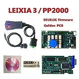 DingSheng PP2000 Lexia 3 V48 PP2000 V25 Lexia 3 Citroen Peugeot, Programa Original versión Simple Detector de diagnóstico de Coche Diag PP2000 versión Multi Idioma