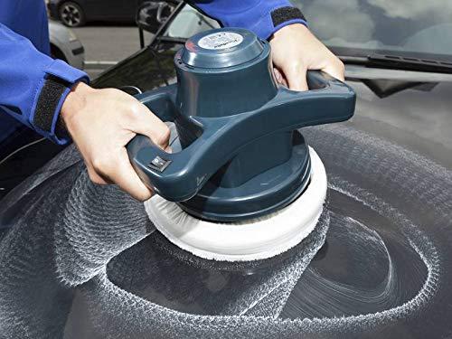 230V Poliermaschine 110W 3000U/min Auto wachsen und polieren mit seitlichen Haltegriffe