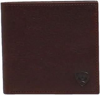 Ariat Men's Dark Copper Shield Logo Bifold Wallet A35307283