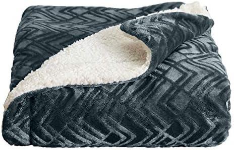 Home Fashion Designs Premium Reversible Sherpa and Fleece Velvet Plush Blanket Fuzzy Soft Warm product image