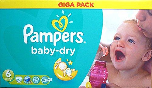 Pampers Baby Dry Giga Pack Größe 6 Giga Pack 92 Windeln
