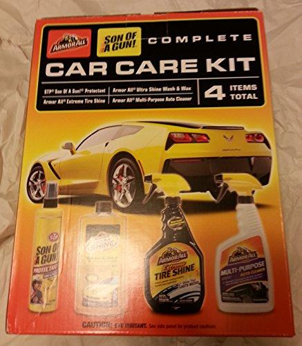ArmorAll Son of a Gun! 4 Piece Car Care Kit