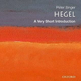 Hegel: A Very Short Introduction audiobook cover art