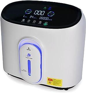 Draagbare zuurstofconcentrator generator, zuurstof machine huis luchtreiniger 93% ± 3% hoge zuiverheid 1-7 l/min stroom vo...