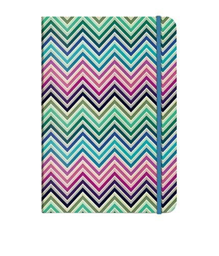 Cedon notitieboek A5 Stijlvol patroon ZigZag