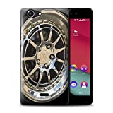 Stuff4 Phone Case for Wiko Pulp 4G Alloy Wheels