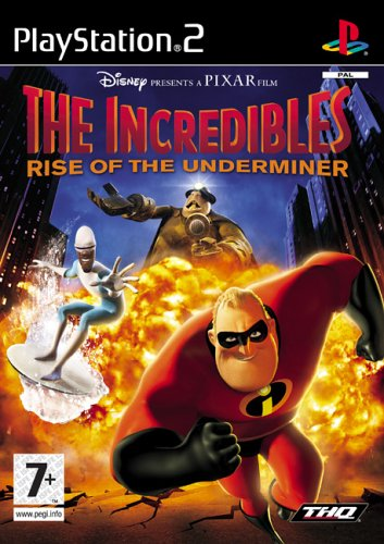 The Incredibles: Rise Of The Underminer (PS2) [Importación Inglesa]