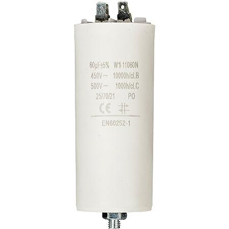 Anlaufkondensator Betriebskondensator 60uf 60µf Mit Elektronik