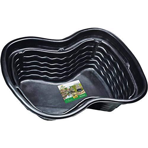 Heissner B1001-00 PE-Fertigbecken 1000 Liter  224 x 150 x 70 cm nierenförmiges Teichbecken für Ihren Gartenteich - 3