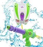 Disney Toy Story Buzz Lightyear Wasser Blaster Rucksack | Tragbare Wasserpistole Mit Großer...