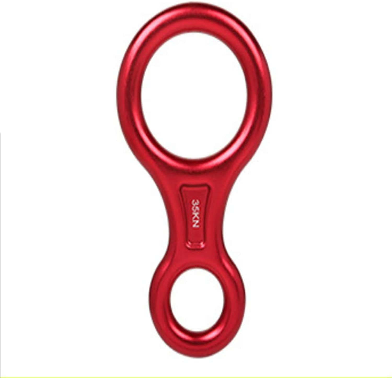 LLXYM Outdoor 8 Word Loop Loop Loop Descender Höhenlage Absteigender Schütze Acht Wort Schleife Bergab B07GNMKG68  Qualität und Quantität garantiert cd376d