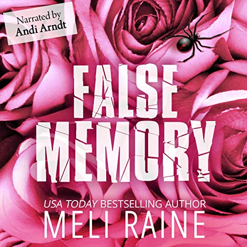 False Memory audiobook cover art
