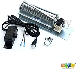 bestbuyonline FK24 Replacement Fireplace Blower Fan KIT for Monessen, Vermont Castings, Majestic, Northern Flame, Temco, CFM, Rotom HB-RB65