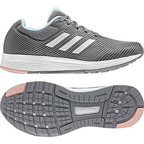 adidas Mana Bounce 2 j - Zapatillas de deportepara niños, Gris - (GRPUMG/FTWBLA/SUABRI), -3