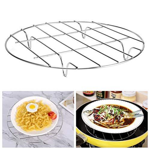 Akemaio Dampfgarer, Edelstahl-Trivet-Rack-Ständer Dampfgarer, Topfpfannen-Kochständer Hochleistungs-Schnellkochtopf Dampfständer-Kochständer