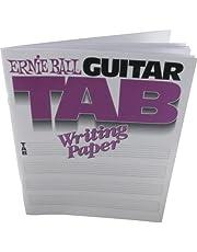 Ernie Ball EB7021 - Cuaderno tablatura para guitarras