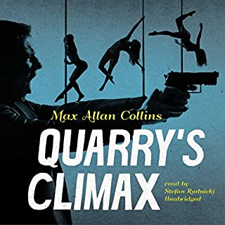 Quarry's Climax audiobook cover art