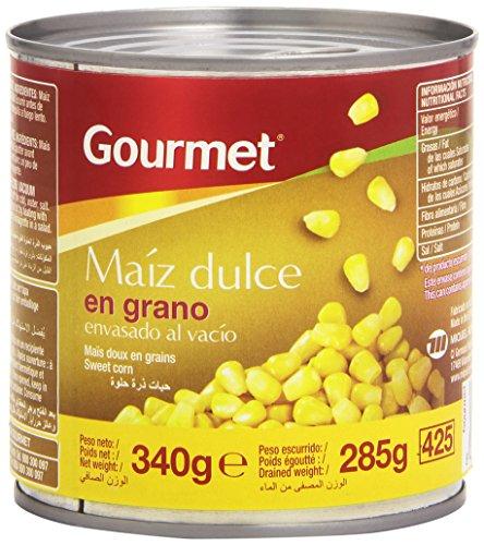 Gourmet Maíz Dulce en Grano - Envasado al Vacío - 285 g