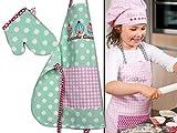 Emily´s Check Kochmütze - Küchenschürze & Topfhandschuh für Kinder 468.550, Küchenschürze & Topfhandschuh 7-12 Jahre, Cupcake Queen - 6