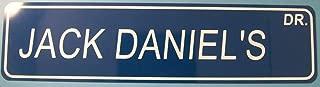 Yilooom Jack Daniel's Dr Street Sign Aluminum 6x24 Jack Daniel's