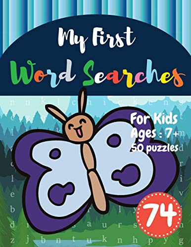 My First Word Searches: 50 Large Print Word Search Puzzles : word search for kids 8 year olds activi