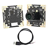 【𝐂𝐡𝐫𝐢𝐬𝐭𝐦𝐚𝐬 𝐆𝐢𝐟𝐭】 カメラモジュール、1.5 x 1.5 x 1インチ広角カメラモジュール、ドライブフリー監視モジュールマニュアルフォーカスセキュリティ監視用産業機器