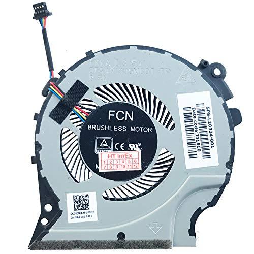 (VGA Version) Lüfter Kühler Fan Cooler kompatibel für HP Pavilion 15-cx, Pavilion 15-cx0000, Pavilion 15-cx0100, Pavilion 15-cx0200, Pavilion 15t-cx, Pavilion 15t-cx0000,