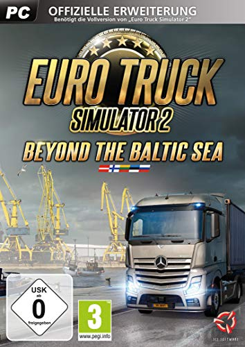 Euro Truck Simulator 2: Beyond the Baltic Sea DLC [Importación alemana]