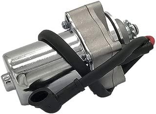 KDSG 3-Bolt Top Mount Starter Motor w Cable for 50cc 70cc 90cc 100cc 110cc 125cc 4 Stroke ATVs Scooters Quads Dirt Bikes Go Karts TaoTao Coolster Kazuma Mini Falcon 90 Lacoste 110 Redcat Tank Sports