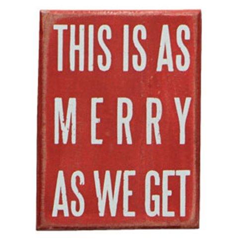 Primitives by Kathy Petite boîte de Noël des éléments des Signes – C'est Aussi Merry Que Nous Avons Faites