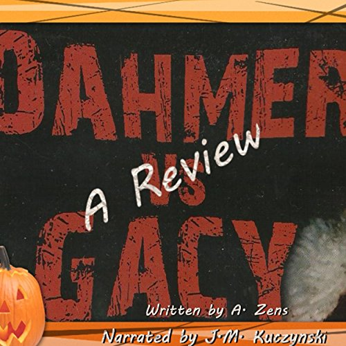 Dahmer vs. Gacy audiobook cover art