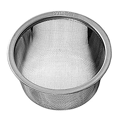 """?Happy Sales HSRPTI25, Japanese Teapot Replacement Stainless Steel Mesh Strainer Infuser 2.5"""" D?"""