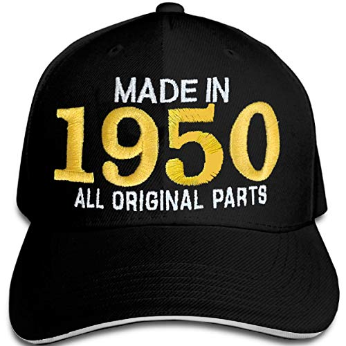 Bombo Made in 1950 All Original Parts^ 70 Years Birthday Party Hat Negro