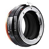 K&F Concept Lens Mount Adapter para Nikon G AF-S F AIS AI Lens a Sony E-Mount NEX Camera para Sony Alpha A7, A6000, A6300, A6500, A5000, A5100, NEX 7, NEX 5, NEX 6, NEX 3N