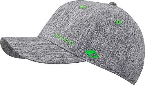 CHILLOUTS Cap Christchurch Hat hochwertige Hüte Mützen und Caps für Herren Damen und Kinder in 4 Farben, Farbe:Light Grey/Green (CHR 03)