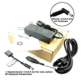 HP Original Netzteil ADP-90WH D, PPP012D-E, PPP012L-E, 753560-003, 710413-001 mit 19.5V, 4.62A (90W) mit Stecker 4.5x3.0mm & Centerpin