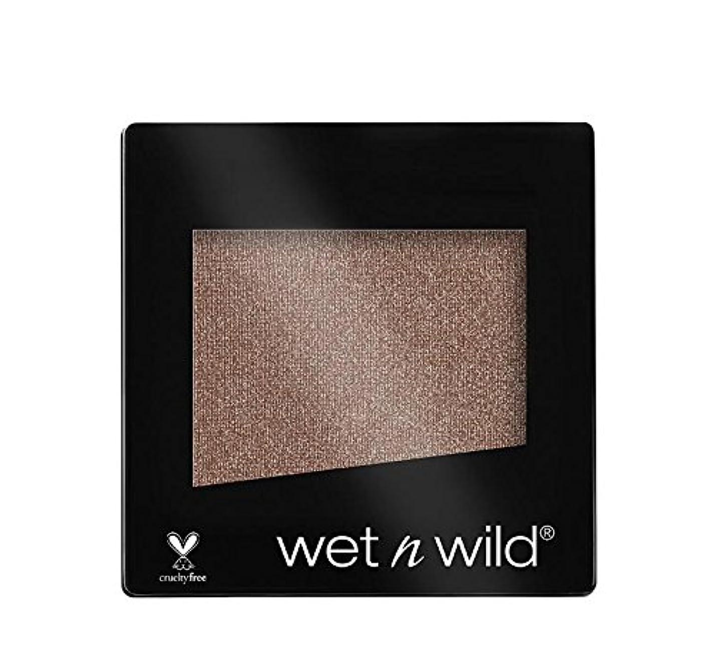 クリーナーそれら新しさWET N WILD Color Icon Eyeshadow Single - Nutty (NEW) (並行輸入品)