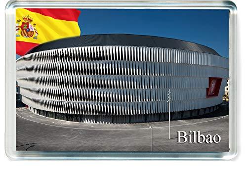 DreamGirl H273 Bilbao Imán para Nevera Spain Travel Fridge Magnet
