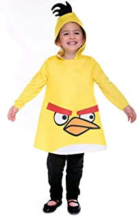 Angry Birds Yellow Bird Toddler Costume (2T)-