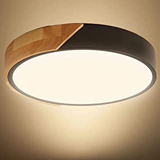 Kambo LED Plafonnier 24W 2400LM LED Lampe de Plafond Moderne Rond Blanc Neutre 4500K Ø30*5CM Chambre la Cuisine le Salon l...