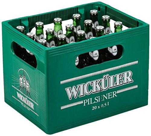 Wicküler Pilsener MEHRWEG, (20 x 0,5 l)