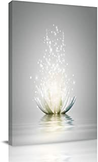 Infinidesign Lotus Canvas Wall Art for Home Decoration, Modern Paintings Picture Decorative Artwork for Livingroom Bedroom...