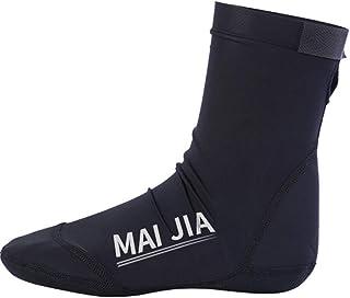 Zhengowen, Calcetines de Buceo Adulto Resistentes a los cortes gruesos calcetines de fondo de buceo snorkel nadar con extendido a prueba de frío y de rápido secado Calcetines de agua de playa de Neopreno