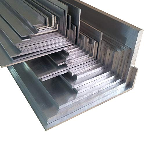 Aluwinkel 50 x 20 x 2 mm Winkelprofil ungleichschenklig Alu Winkel Aluprofil Aluminiumprofil L Profil aus Aluminium (200 cn (2 Stck.))